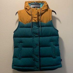 Patagonia bivy down vest medium